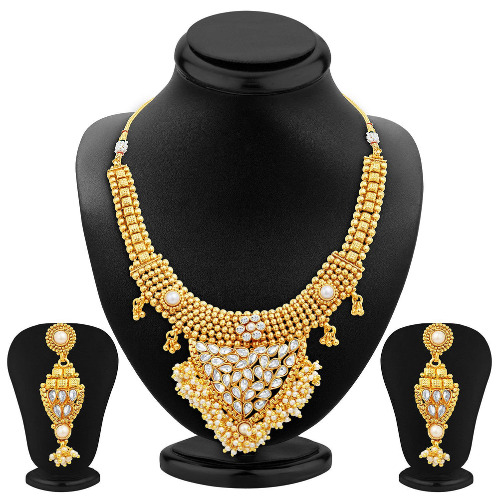 Sukkhi Amazing Gold Plated Necklace Set