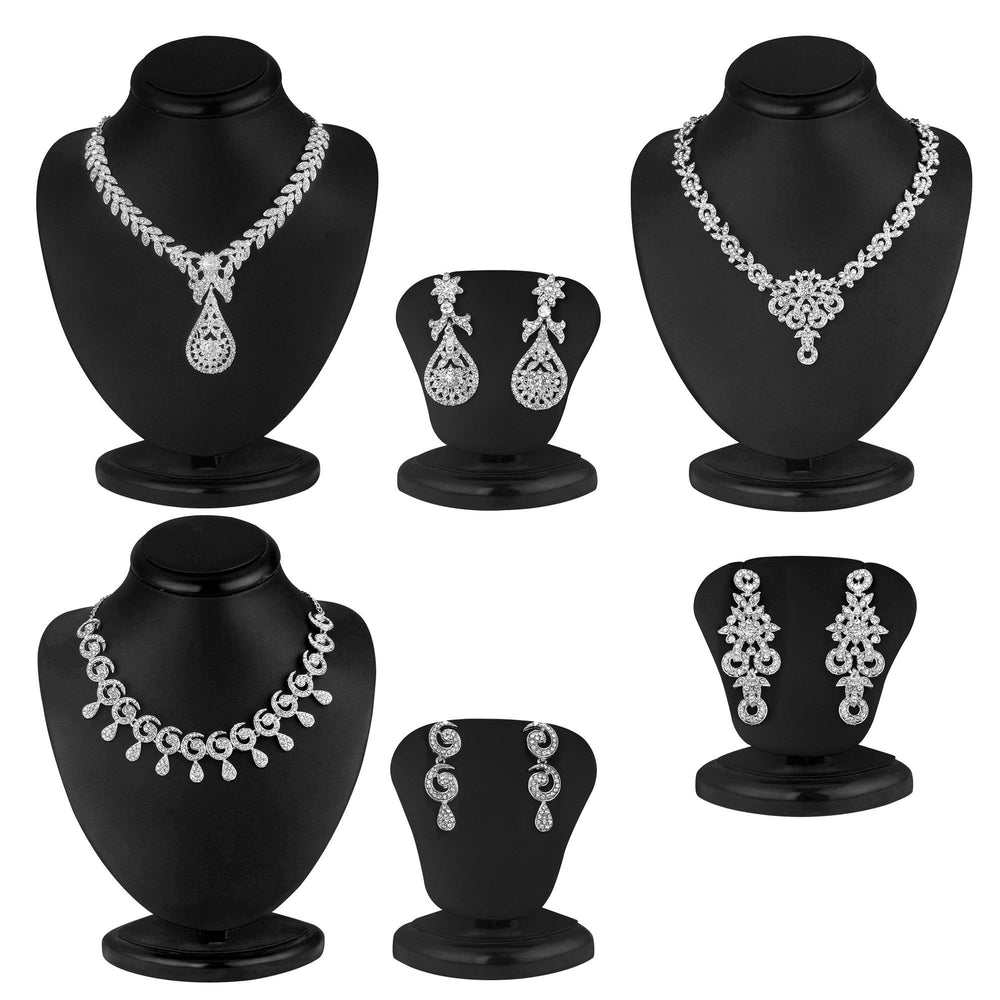 Sukkhi Exclusive 3 Piece Necklace Set Combo