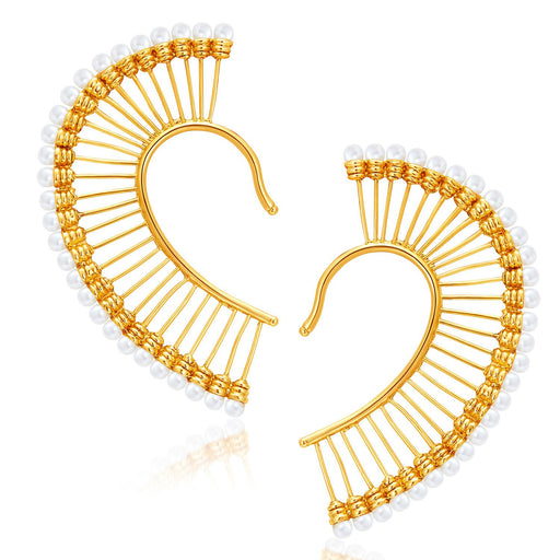 Sukkhi Bewitching Gold Plated Earcuff For Women