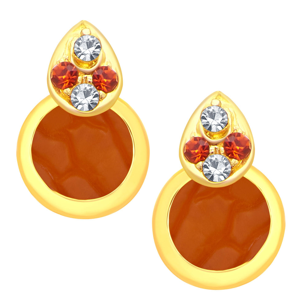 Sukkhi Classic Gold Plated AD Pendant Set For Women-2