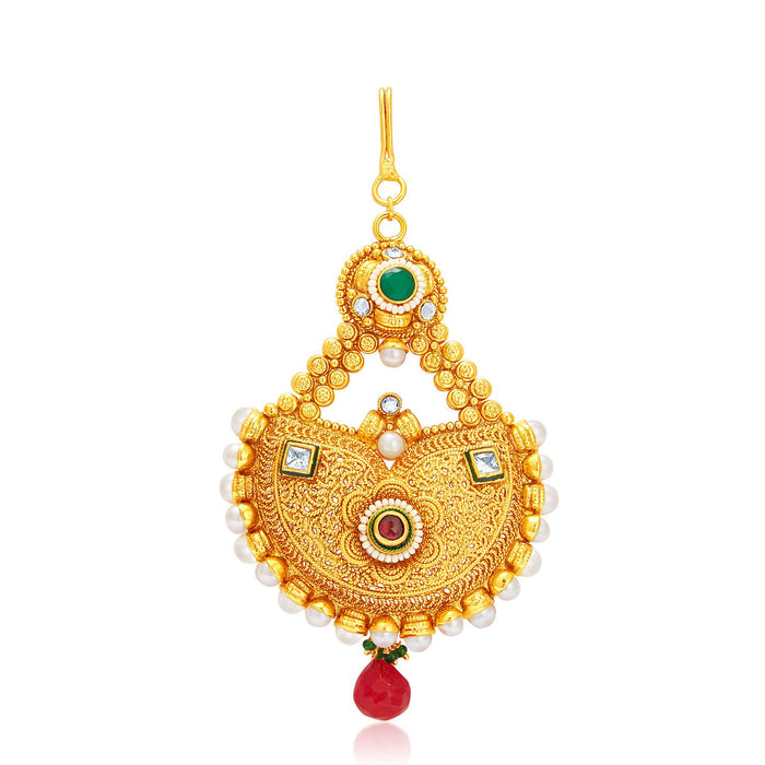 Sukkhi Glamorous Gold Plated Passa For Women