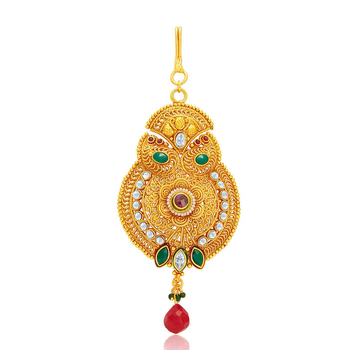 Sukkhi Excellent Gold Plated Passa For Women
