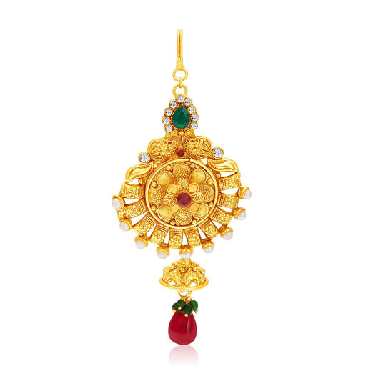 Sukkhi Gorgeous Gold Plated Passa For Women