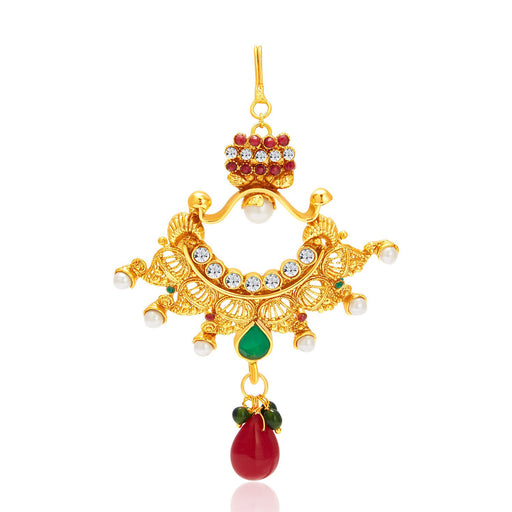 Sukkhi Blossomy Gold Plated Passa For Women