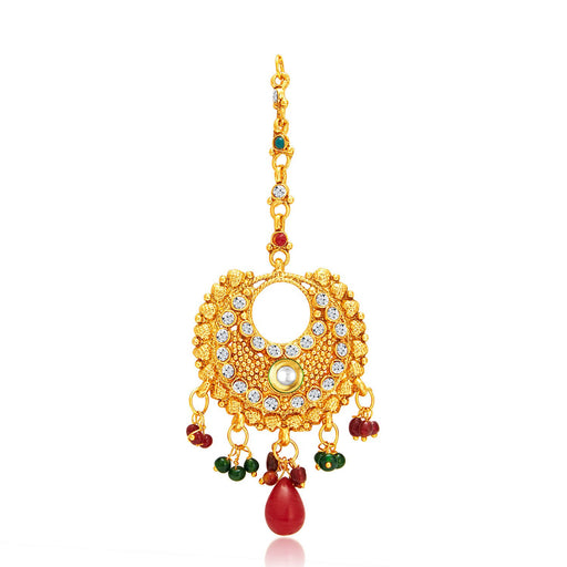 Sukkhi Ethnic Gold Plated Passa For Women