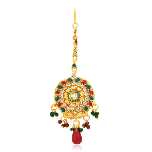 Sukkhi Royal Gold Plated Passa For Women