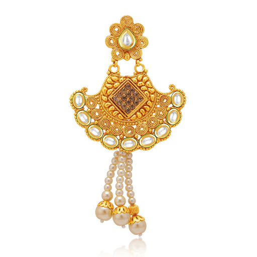 Sukkhi Modern Gold Plated AD Passa For Women