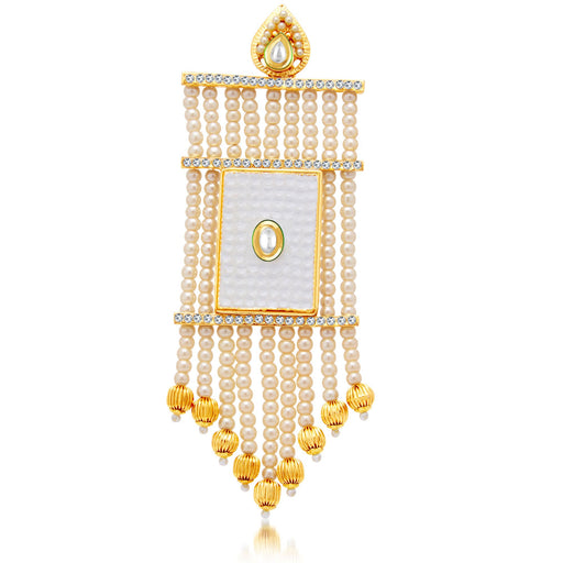 Sukkhi Classic Gold Plated AD Passa For Women