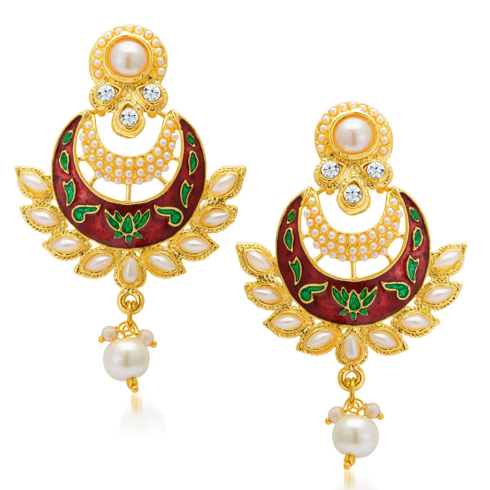 Sukkhi Finely Gold Plated Earring For Women