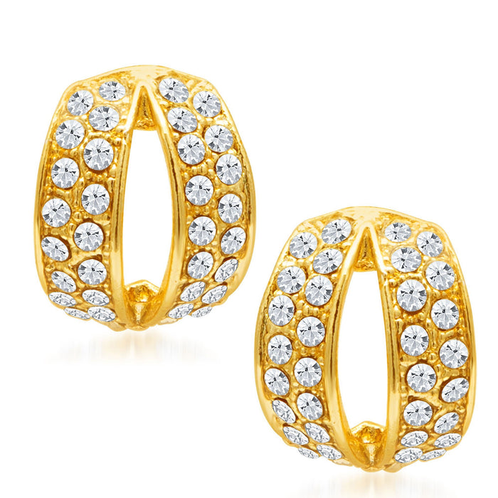Sukkhi Divine Gold Plated Ad Earring For Women