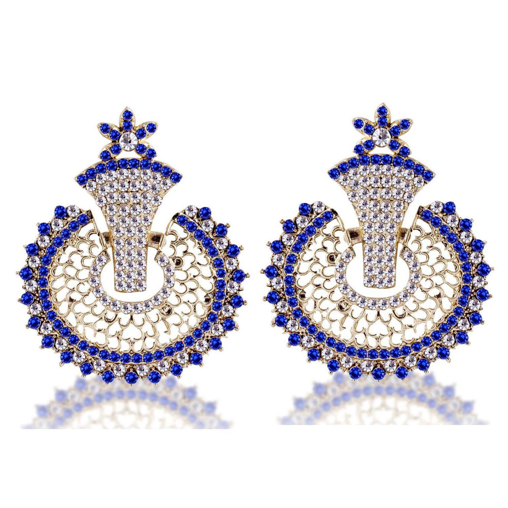 Sukkhi Elegant Gold Plated AD Earring For Women