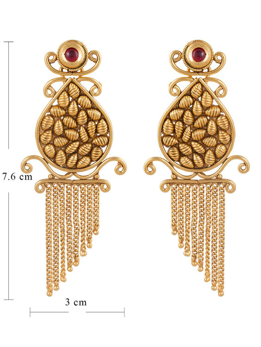Sukkhi Exotic Gold Plated Earring For Women-1