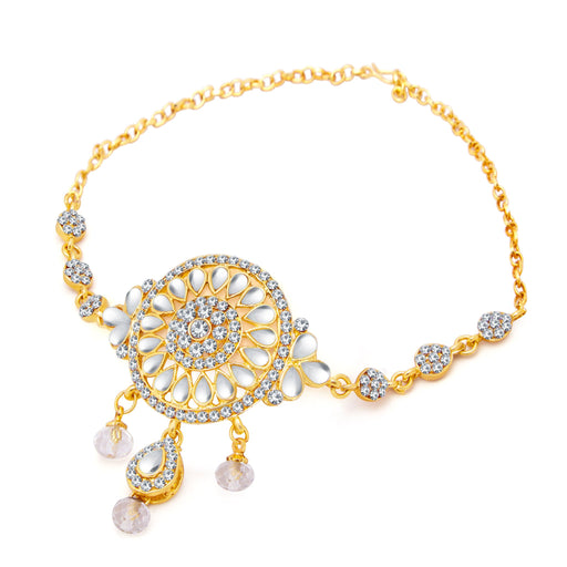 Sukkhi Modern Gold Plated AD Bajuband For Women