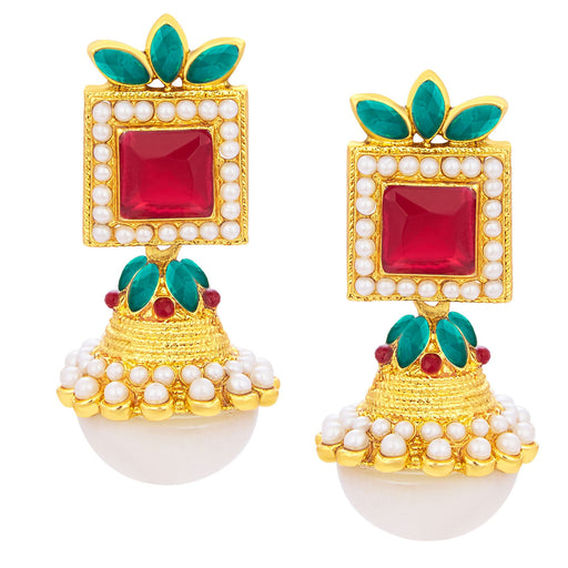 Sukkhi Exquisite Jhumki Gold Plated Earring For Women