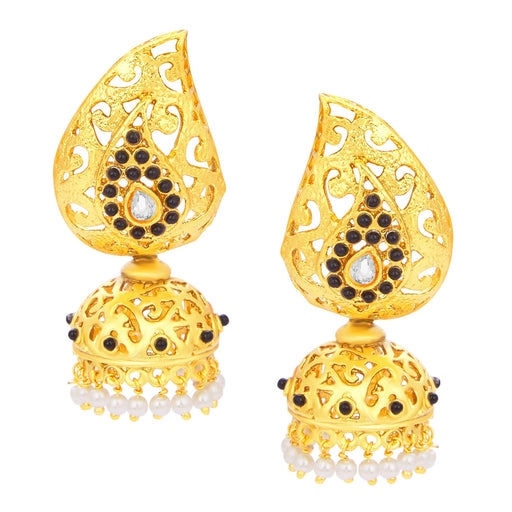 Sukkhi Magnificent Jhumki Gold Plated Earring For Women