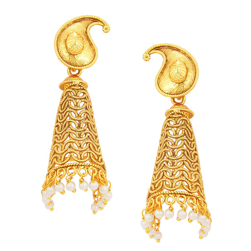 Sukkhi Elegant Jhumki Gold Plated Earring For Women
