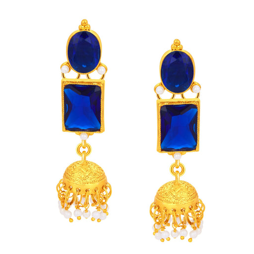 Sukkhi Luxurious Jhumki Gold Plated Earring For Women