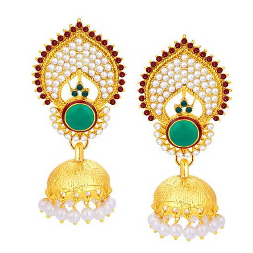 Sukkhi Trendy Jhumki Gold Plated Earring For Women