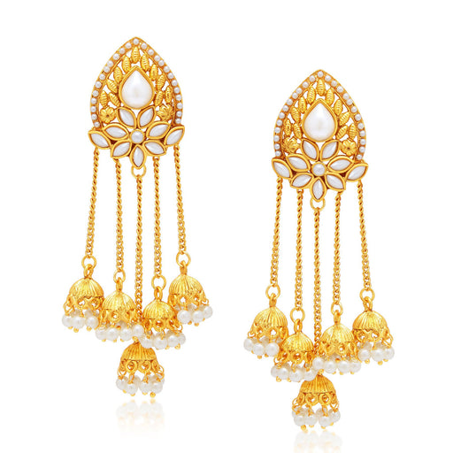 Sukkhi Stunning Gold Plated Earring For Women