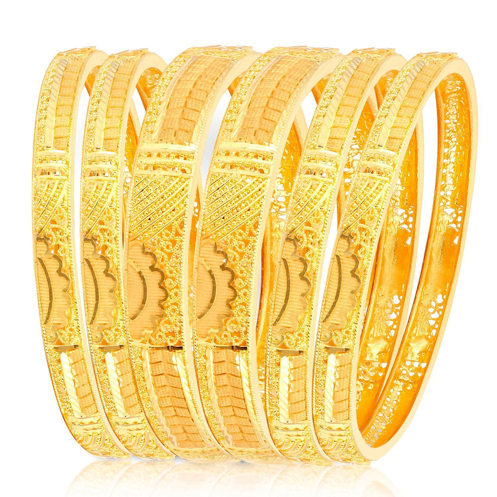Sukkhi Exotic Gold Plated Bangle Set for Women