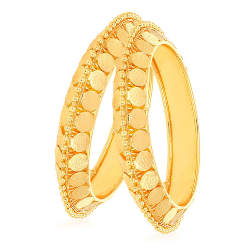 Sukkhi Exclusive Temple Gold Plated Bangle Set for Women