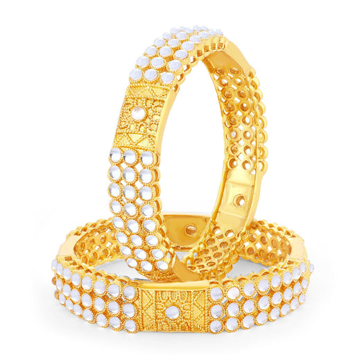 Sukkhi Lavish Gold Plated Bangle Set for women