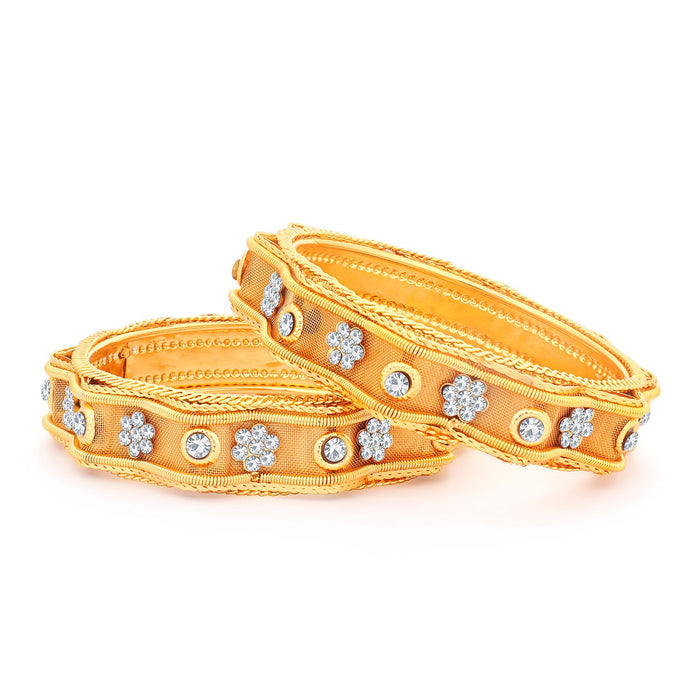 Sukkhi Exclusive Gold Plated Bangles Set For Women - 2.4