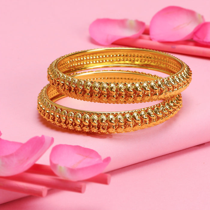 Sukkhi Equisite Gold Plated Bangle Set For Women (Set of 2)