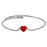 Sukkhi Trendy Adjustable Rhodium Plated Bracelet for Women