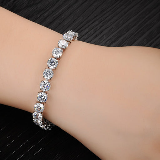 Sukkhi Exclusive Crystal Rhodium Plated Bracelet for Women