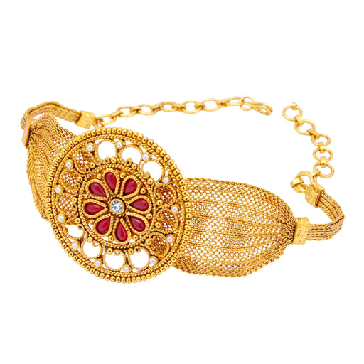 Sukkhi Attractive Gold Plated Bajuband For Women