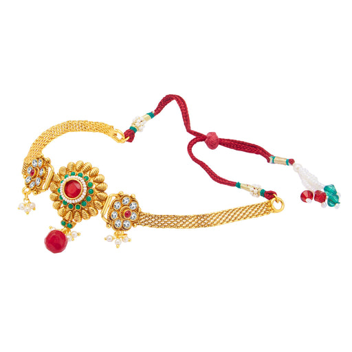 Sukkhi Graceful Gold Plated Bajuband For Women
