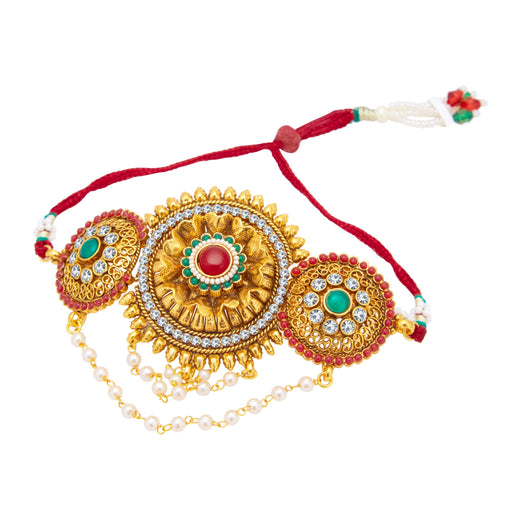 Sukkhi Amazing Gold Plated Bajuband For Women