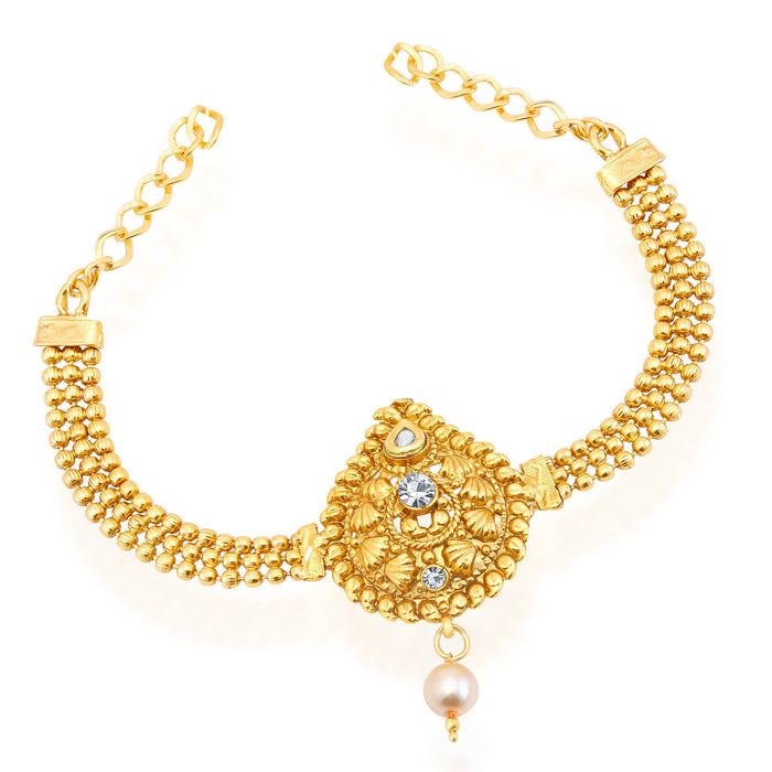 Sukkhi Stylish Gold Plated Bajuband For Women