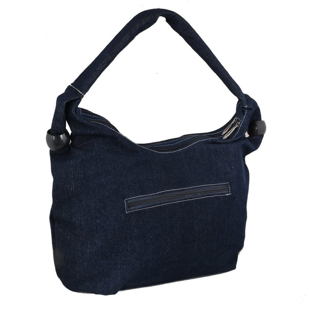 Sukkhi Unique Blue Shoulder Handbag-1