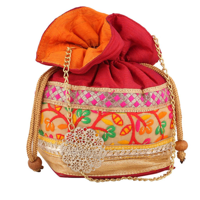 Sukkhi Multicoloured Designer Potli Bag