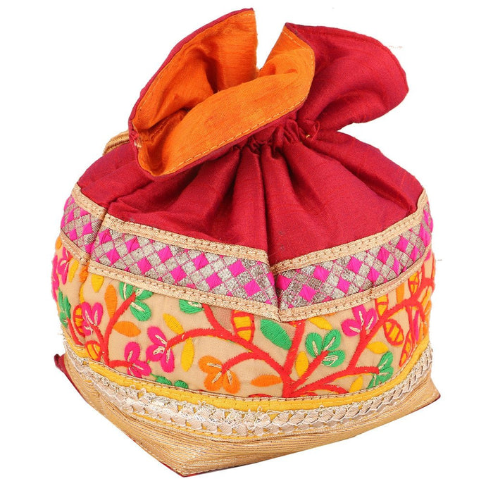 Sukkhi Multicoloured Designer Potli Bag-1