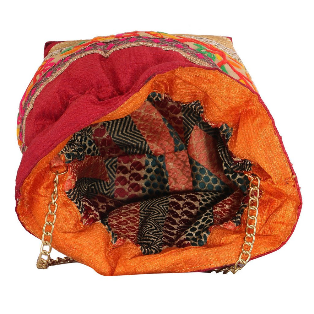 Sukkhi Multicoloured Designer Potli Bag-2