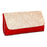 Sukkhi Designer Red and White Clutch Handbag