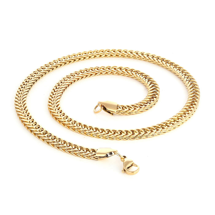 Sukkhi Trendy Gold Plated Sneak Design unisex Chain
