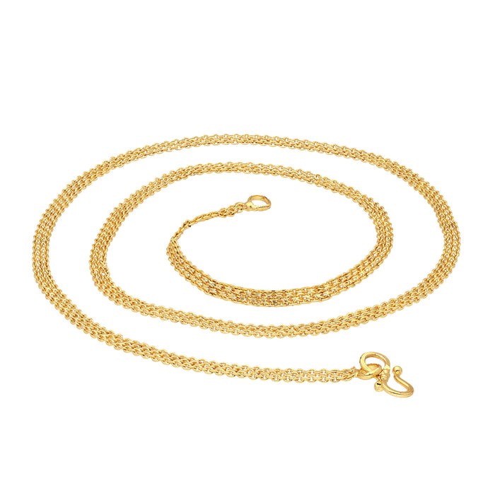 Sukkhi Fancy Gold Plated Unisex Anchor chain