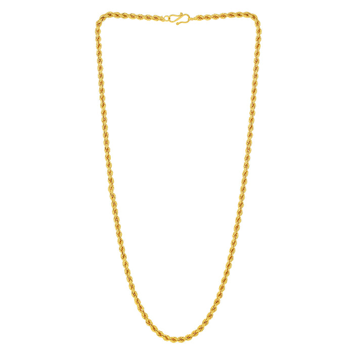 Sukkhi Fascinating Gold Plated Unisex Rope chain
