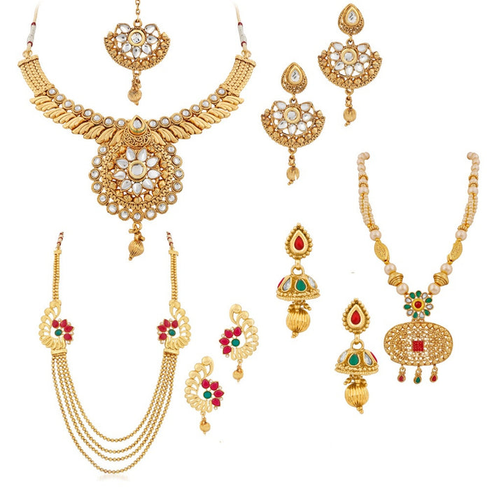Trushi Exclusive Eye-Catching Combo Set With Three Diffrent Design For Three Different Occasions For Women