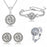 Sukkhi Lavish Valentine Special Rhodium Plated Cystle Combo for Women