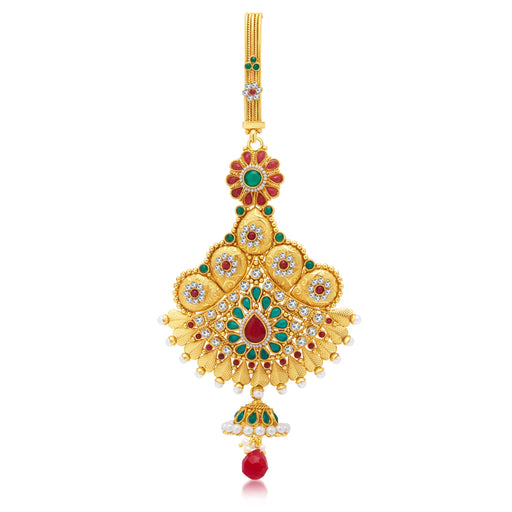 Sukkhi Astonishing Gold Plated Chabi Challa For Women