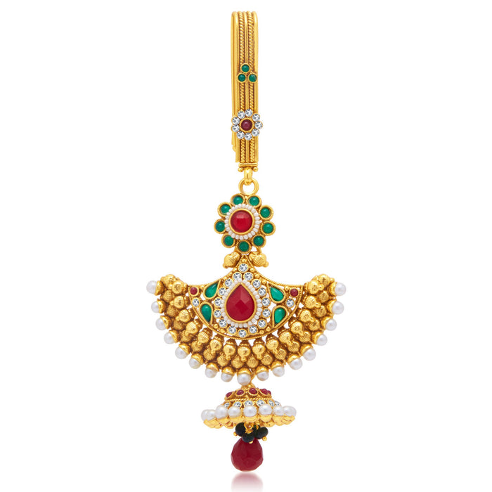 Sukkhi Alluring Gold Plated Chabi Challa For Women