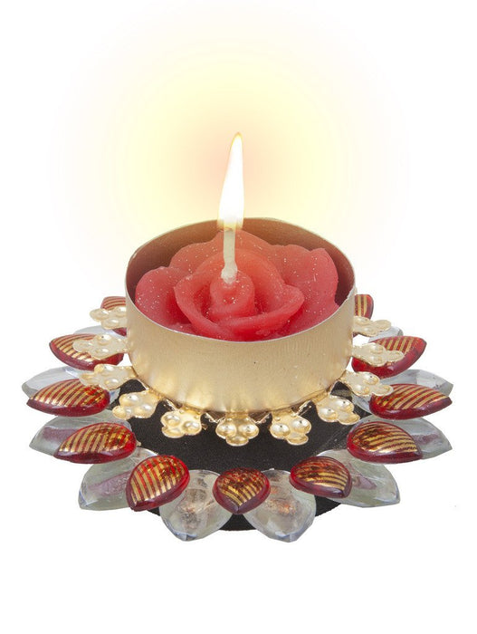 Sukkhi Best Selling Diya Candle in Vibrant Red