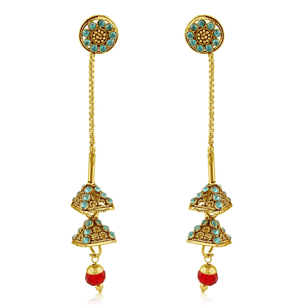 Sukkhi Amazing Gold Plated Dangle Earring For Women
