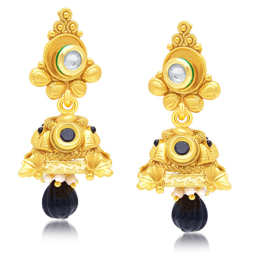 Sukkhi Exquisite Gold Plated Jhumki Earring For Women