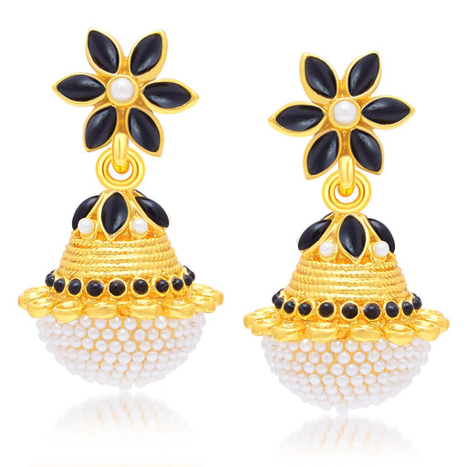 Sukkhi Astonishing Gold Plated Jhumki Earring For Women